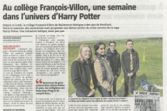 VDN 2019-03-27 COLLEGIENS CHEZ HARRY POTTER